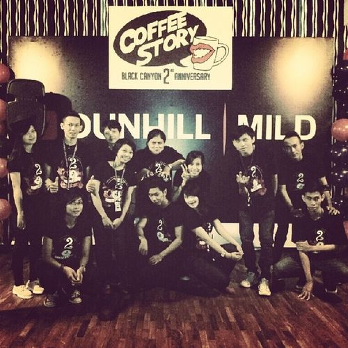 Coffee Story 2nd Anniversary Blackcanyoncoffee Jogja @bccjogja @blackcanyonthailand