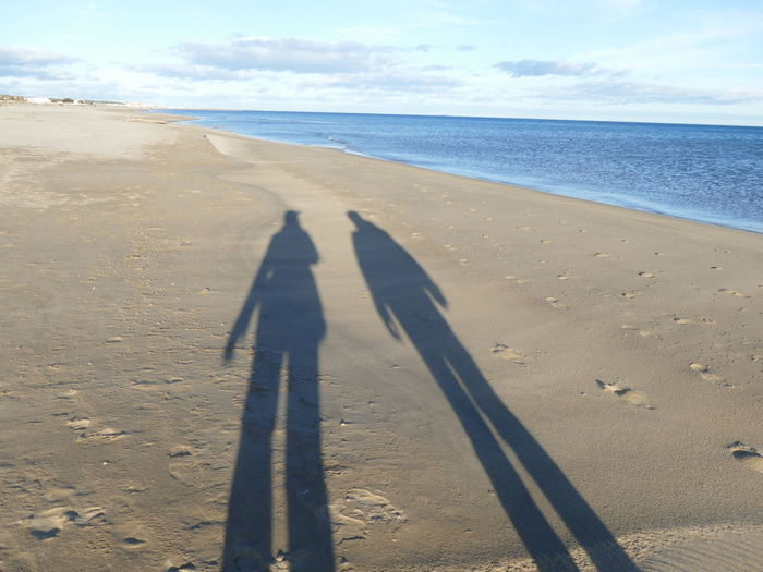 France Beach Sand Shadows People No Real Person Shadows Of Two People Human Representation Symbol Shadow Sea Land Nature Real People Sunlight Two People Horizon Over Water Scenics - Nature Leisure Activity Togetherness Long Shadow - Shadow Outdoors Focus On Shadow Walking Side By Side Life Is A Journey