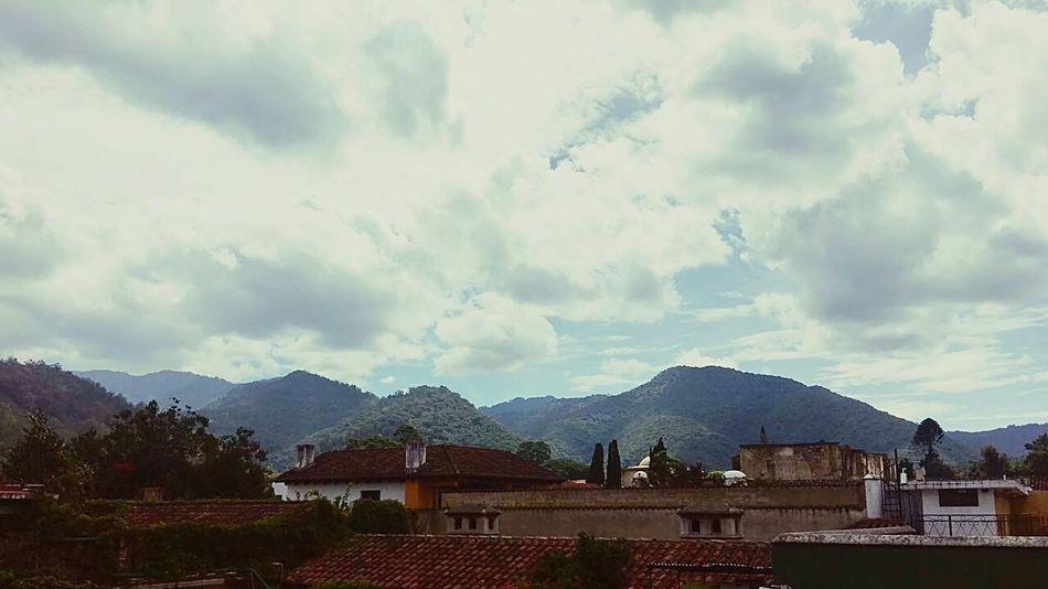 Sky And Clouds Enjoying Life