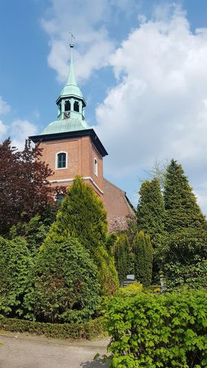 Church Architecture No People Outdoors Nature Germany Ochsenwerder Church Peaceful View