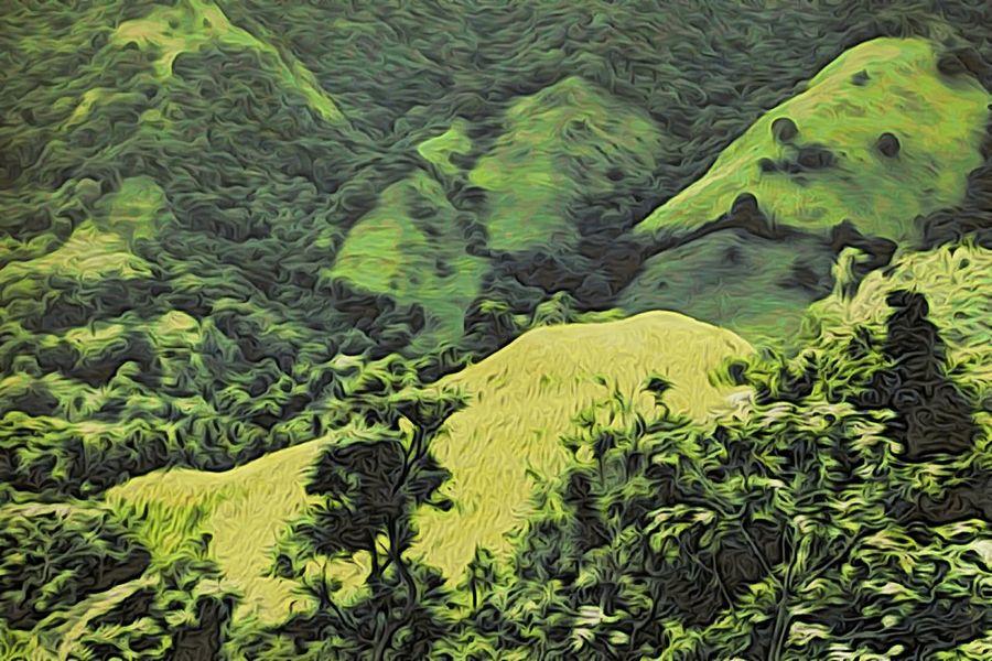 The Minimals (less Edit Juxt Photography) NEM Painterly NEM Landscapes Nature Jixipix Mokuhanga