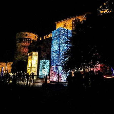 Music Brings Us Together Music Festival Brescia Castle Crowd Getting Creative Night Nightphotography Night Lights Nightlife Concert IPhoneography Iphone6s