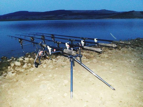 Fishing Water Sand Sky Fishing Tools