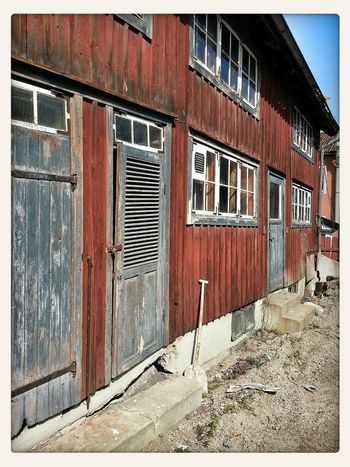 Streetohotography Old Buildings Arboga Abandoned House