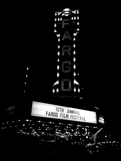 QVHoughPhoto Fargotheatre Fargo Northdakota Fargofilmfestival Blackandwhite IPhoneography IPhone4s
