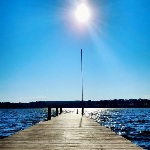 Dockside Sun Lakeontario  Serenity