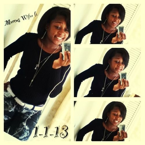 Marcus Wifey (: Happy 1 Month To Us <3
