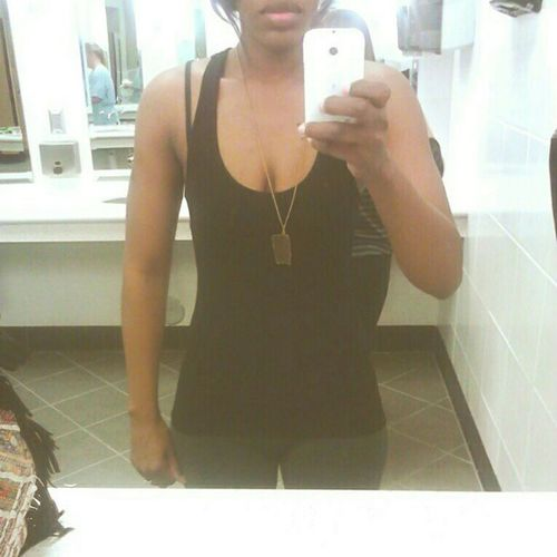 """Results! #gym #gb3 I lost 2.5 lbs this week and my waist is 24"""" w00t! Feeltheburn Fitsperation Workout Gym Fitness Fit Abs GymRat Results Workingout Fitspo Fitgirl Gymrats Gb3"""