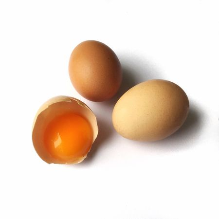 Eggshell Brown Eggs Eggyolk Food Chicken Eggs Healthy Food Nutrition IPS2016Stilllife The OO Mission What's On The Roll Paint The Town Yellow