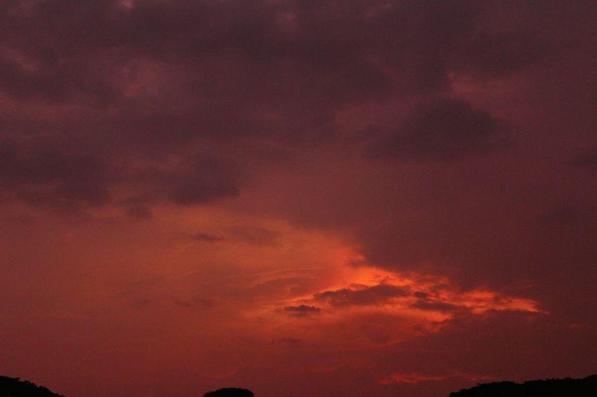 Astronomy Sunset Red Dramatic Sky Orange Color Spirituality Sky Cloud - Sky