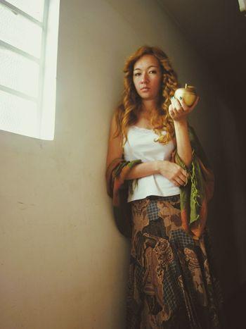 Narcissism Portrait Of A Woman Self Portrait Forbidden Fruit