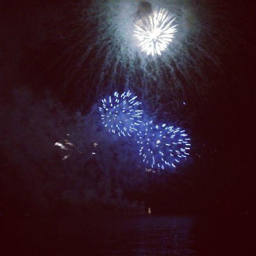 Floripa Fireworks Beauty Newyearcoming blue =skylights ilikedit