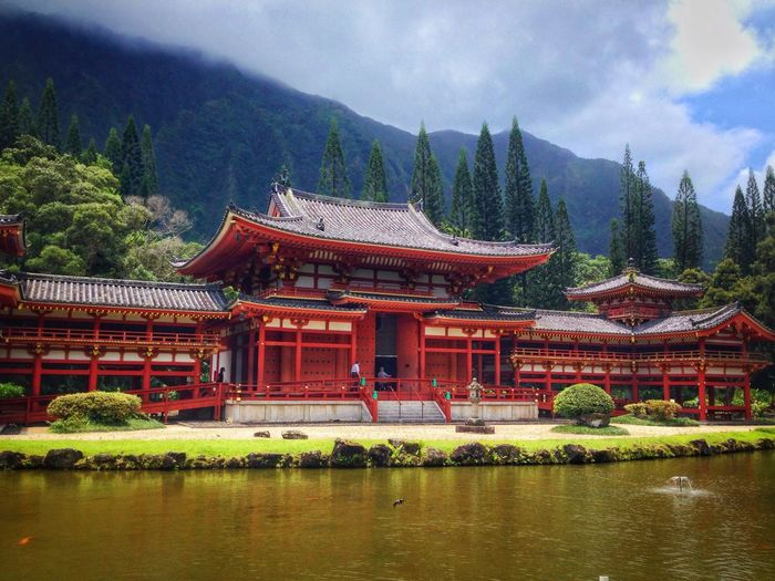 Hawaii Byodo-In Temple Architecture
