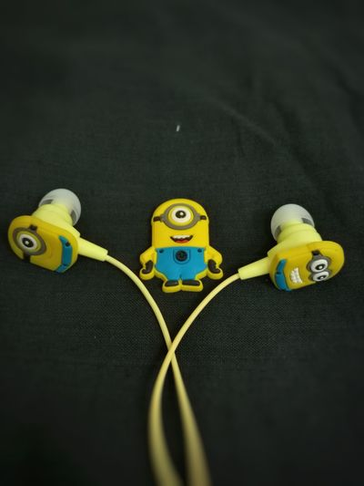 No People Music Earphones Mobile Photography Freshness Lifestyles First Eyeem Photo Minions ♥♥ Minions
