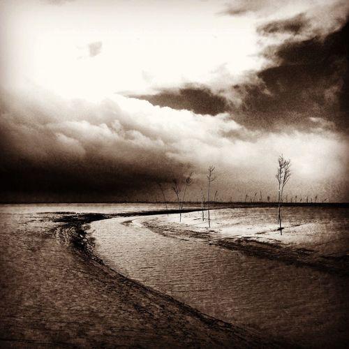 Aufgenommen in meinem Urlaub an der Nordsee. Nature Sky Outdoors Landscape Sea Cloud - Sky Beach First Eyeem Photo