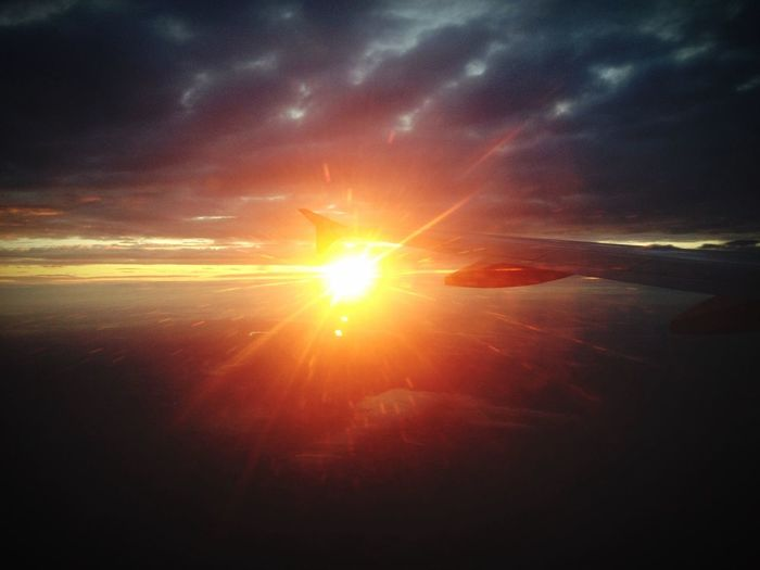 On the way to Italy Sunrise Flying Excitingstuff First Eyeem Photo