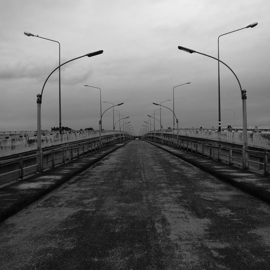 Abandoned bridge No People Outdoors Sky City HuaweiP9Photography Travelphotograpy Architecture Landscape Travel Destinations Abandoned Places Road To Nowhere Road Trip! Thailand Photos Black And White Photography Black&white Travel Thailand