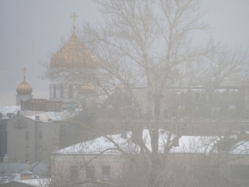 Russia, Moscow, Cathedral Of Christ The Savior Architecture Bare Tree Building Exterior Built Structure Cathedral Of Christ The Savior City Day Dome Moscow No People Outdoors Place Of Worship Religion Russia Russia, Moscow, Cathedral Of Christ The Savior Sky Snowing Spirituality Tree Winter