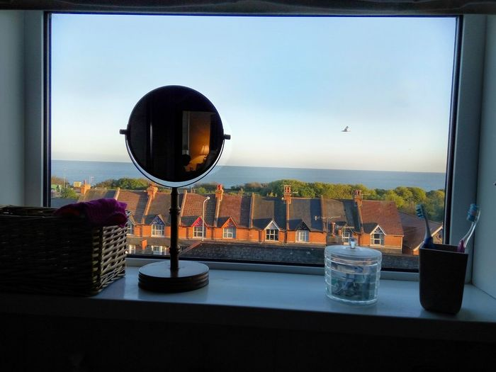 Water Indoors  WINDOW WITH A VIEW Sea And Sky Sea View Seascape Window Sill