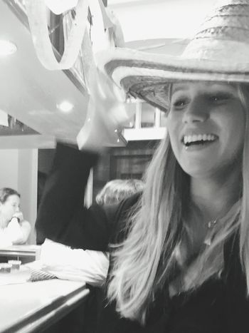 To my best friend Thanks for being so awesome!! Blackandwhite Smiling Happiness Cinco De Mayo Love Yourself
