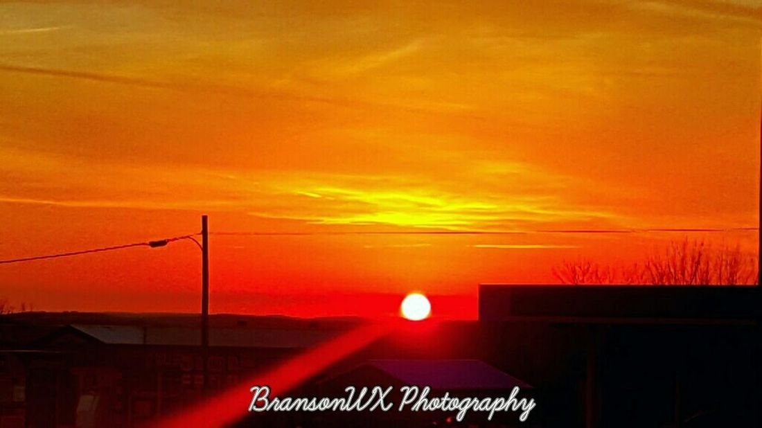 Sunset in Kissee Mills Missouri. Fie Ball! Taking Photos Check This Out Hello World Hi! Enjoying Life Beautiful Surroundings Peace And Quiet Capture The Moment Enjoying The Sun View