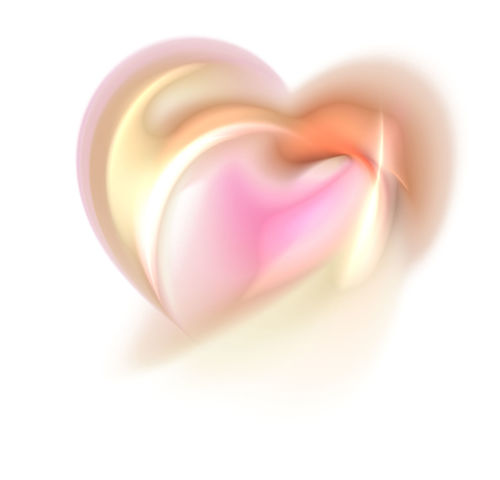 sweet fractal heart. computer generated image Abstract Beige Close-up Creativity Curve Design Fractal Heart Shape Isolated Love No People Passion Pink Color Romance Shine Shiny Space Spiral St.Valantain's Day Sweet Symbol Tender Wedding White White Background
