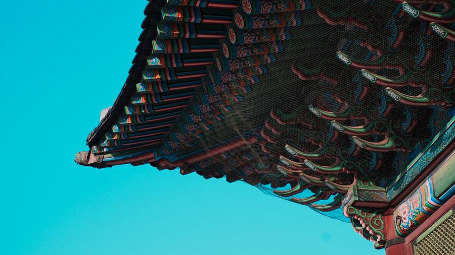 Gyeongbokgung Palace Joseon Era Exteriors Gyeongbokgung Palace Seoul, Korea Palace