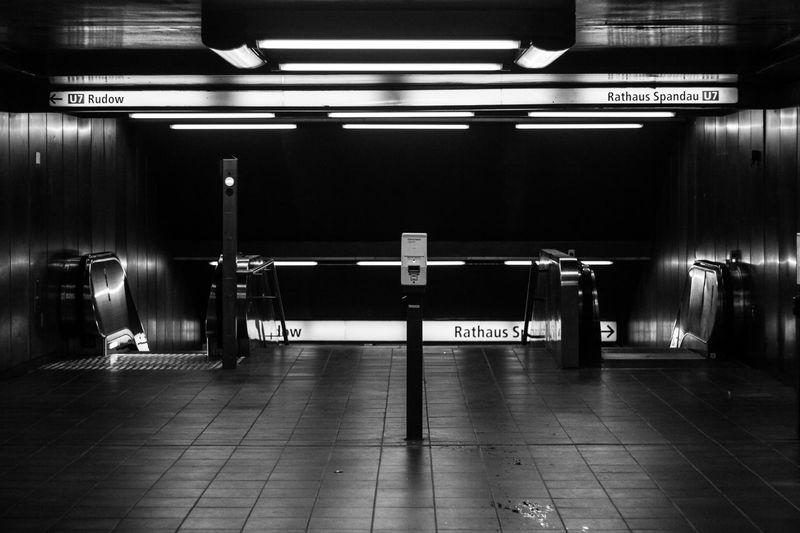 Black And White Blackandwhite Illuminated Indoors  No People Transport Transportation U-Bahn U-Bahnhof Urban Transportation U7 Underground Railwaystation Railway EyeEmNewHere The Secret Spaces Neighborhood Map