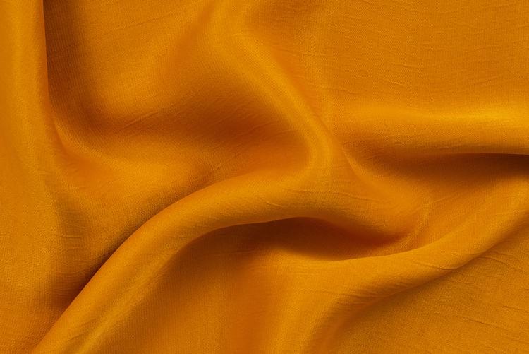 Full frame shot of yellow pattern fabric