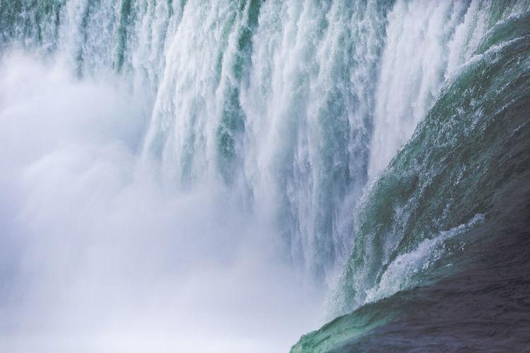 Niagara waterfall water view