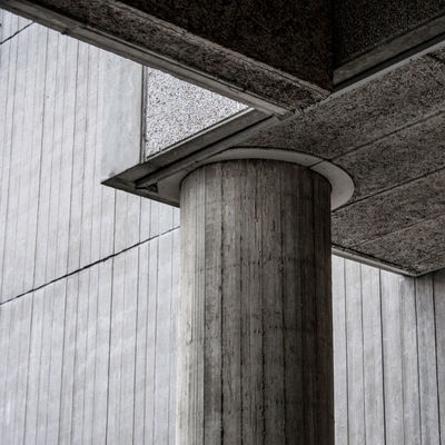 Minimal Concrete Sosbrutalism Abstract Architectural Column Architecture Brutal_architecture Brutalism Built Structure Close-up Concrete Day Low Angle View Minimalism No People Outdoors Urban Geometry The City Light Minimalist Architecture Minimalz The Architect - 2017 EyeEm Awards BYOPaper! Black And White Friday The Graphic City