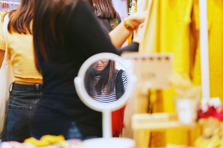 Me in mirror Me Mirror Mirror Reflection Mirrorselfie Me Human Body Part Human In Frame Woman Sefie