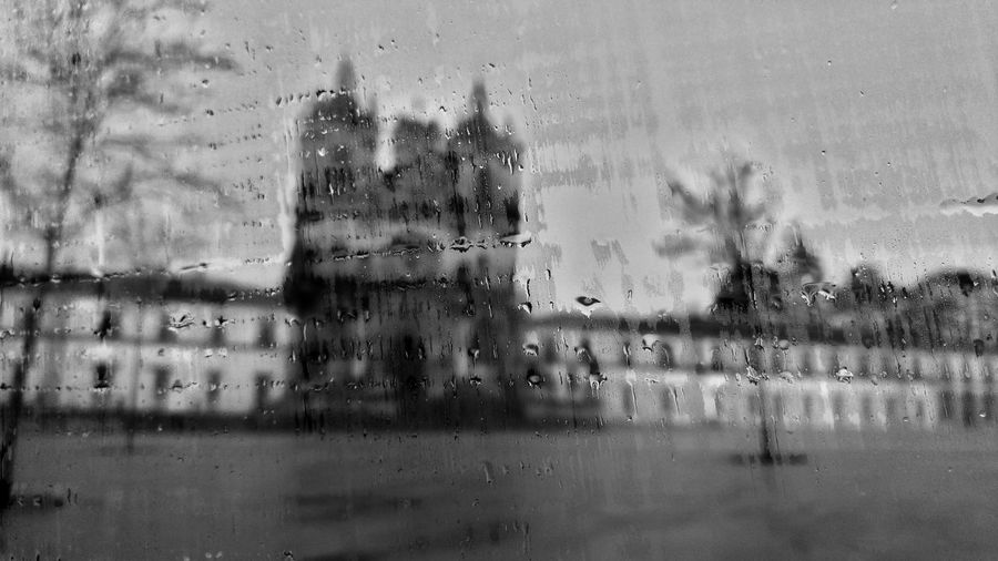 Mosteiro Sta Maria de Alcobaça - Black&withe Onochromatic Rainy Days Rain Taking Photos Monument Portugal Here Belongs To Me Finding New Frontiers Miles Away