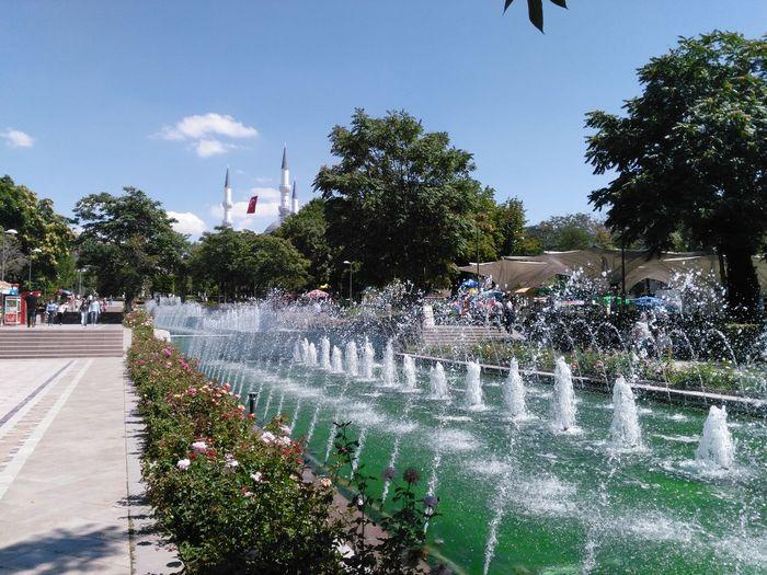 Ankaragenclikparki Havuzbasi Ankara Türkiye Havuz Genclik Parki