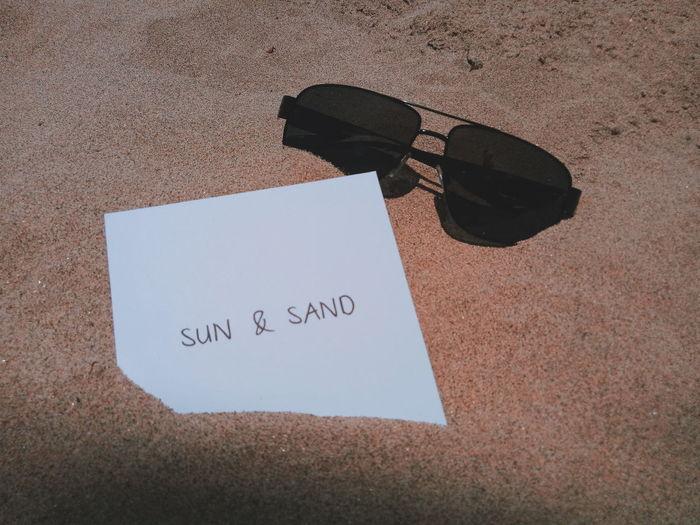 Sun and Sand. A