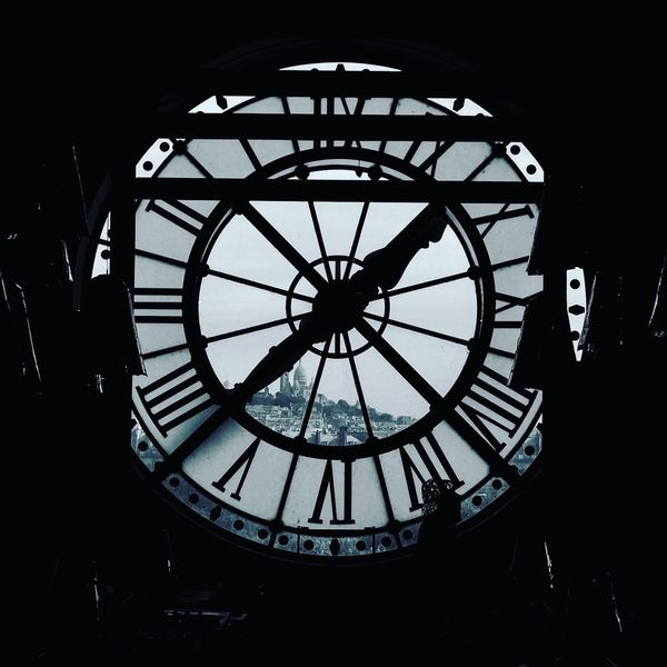 Orsay Clock Orsay Museum Museum Paris, France  Circle Roman Numeral Clock Clock Face Indoors  Time Minute Hand Day