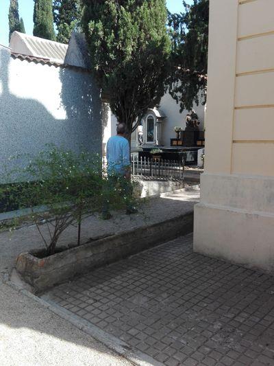 Cementerio Cripta Nicho Soledad_infinidad_caminos Muerte Y Vida Dia Water Tree Shadow Sky Architecture Building Exterior Built Structure