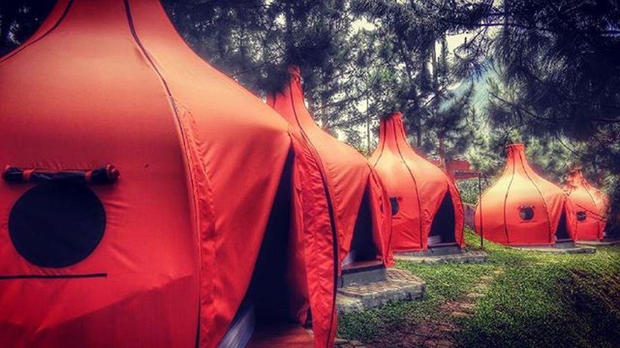Bombay tent for your cozy silent night Maribaya Explorebandungbarat BeautifulIndonesia Bandungbarat Dheayodiansyah WeekendEscape