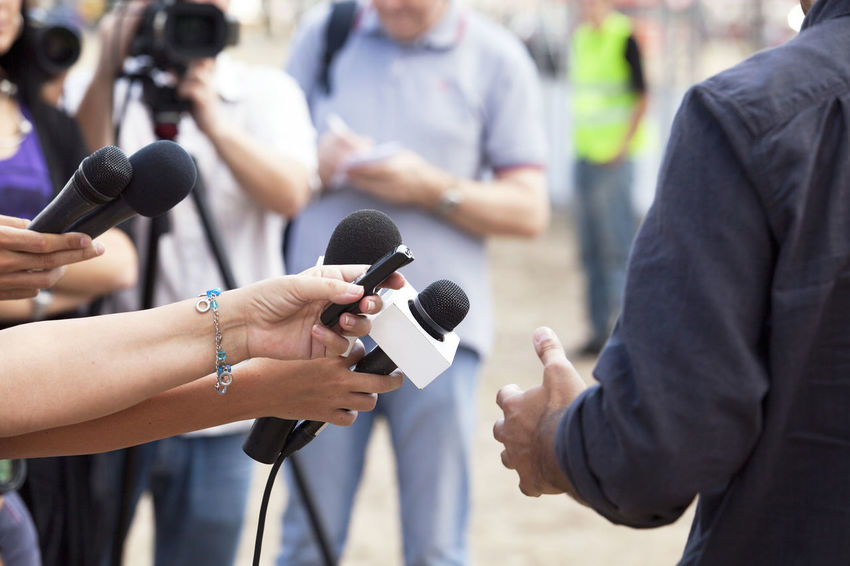 TV interview. Journalism. Camera Operator Journalist PR Answering Questions Asking Question Broadcasting Journalism Comment Communication Holding Human Hand Information Journalism Media Event Media Interview Microphone News Press Conference Public Relations Question Report Reporter Television The Media Tv Video Camera