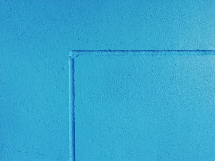 Full frame shot of blue door