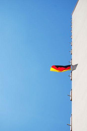German Flag Against Sky