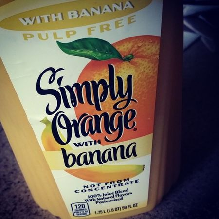 I ♡ nanners! OJ  Bananas Simplyorange