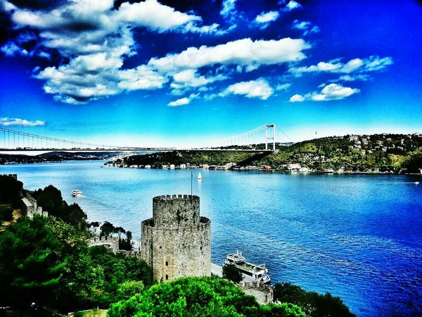 Turkey Istanbul Turkey Rumelihisari Rumeli Hisarı Blue Sky Wonderful Day GoodDay✌✔ Istanbul - Bosphorus Eyem Gallery Eyemphotography Eyem Best Shots Nature_collection
