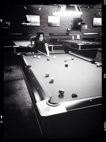 I'm not that bad !! Hahha Playing Pool Getting Competitive