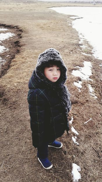 Wool Warm Clothing Child Children Only Knit Hat One Person Winter One Girl Only Wet Cold Temperature Childhood Portrait People Knitted  Close-up Outdoors Day