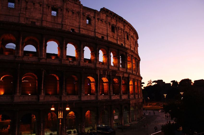 The Colosseum, Rome EyeEm Sunset Architecture Shadows & Lights Canon 550 D