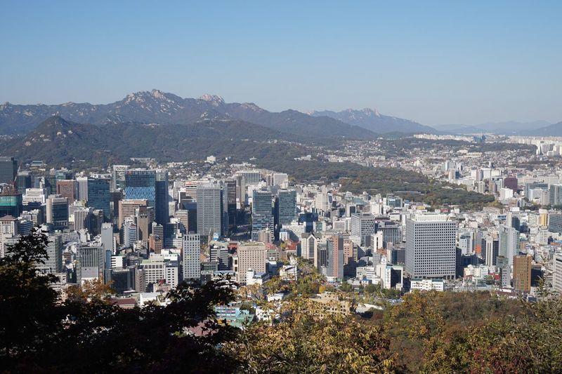 seoul Cityscape City Outdoors Travel Destinations Landscape