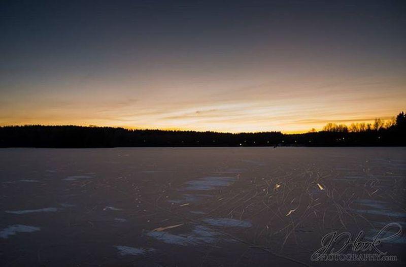 One Freezing Day on Lake Tohloppi in Tampere Pirkanmaa Finland Eräänä kylmänä päivänä tohloppijärvellä Tohloppijärvi Kylmä Talvi Winter Paiva Järvi