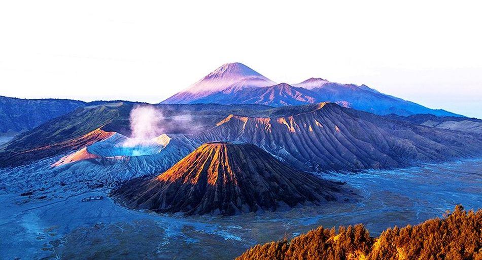 Bromo Volcanoes Volcano INDONESIA