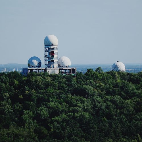 Teufelsberg Berliner Ansichten Berlin Photography Berlin Love Berlin Teufelsberg Teufelsberg Berlin Technology Wireless Technology Sea Arts Culture And Entertainment Internet Antenna - Aerial Security Sky Satellite Dish Astronomy Telescope